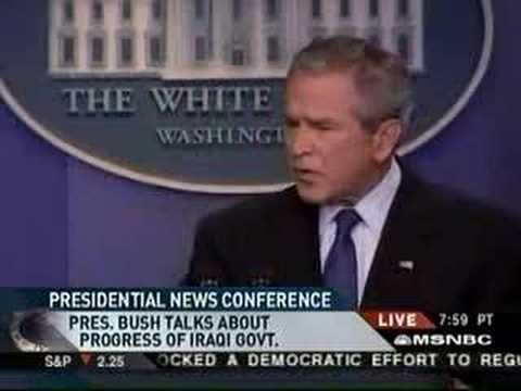 Bush Says Mandela is Dead