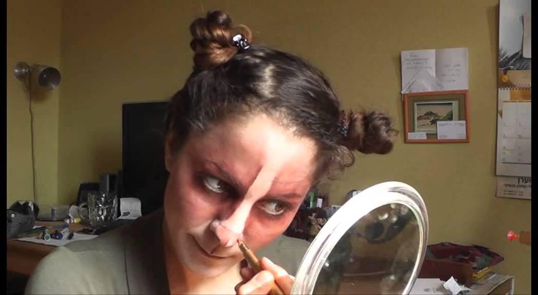 Grumpy Cat Makeup 2013