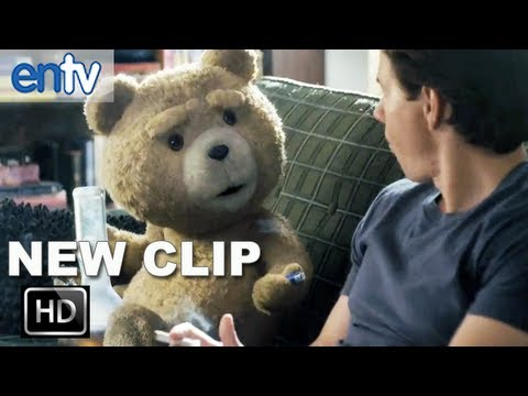 "Ted ""Boston Girls"" Red Band Clip [HD]: Seth MacFarlane & Mark Wahlberg Get High & Talk Boston Girls"