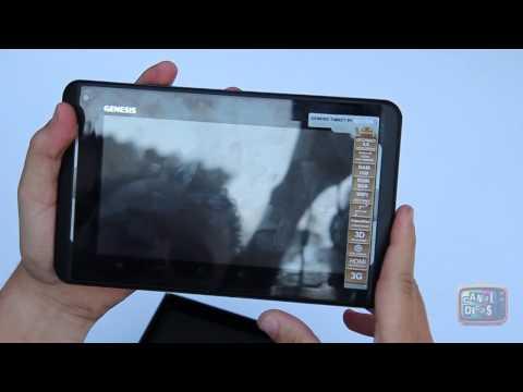 Review Tablet GENESIS GT-7220S em Português Brasil - #Basico