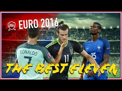 THE BEST ELEVEN | TEAM OF THE TOURNAMENT | EURO 2016