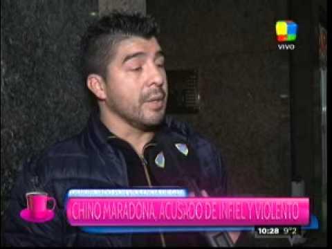 """El Chino Maradona sobre su separación: """"Lo que hace Vanesa es porque se le está acabando la poca fama que tenía"""""""