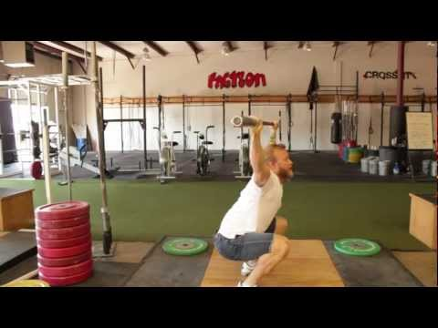 How to Shrug Under the Bar: Improve Your Snatch for CrossFit workouts - TechniqueWOD Image 1