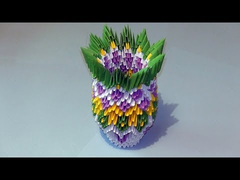 Уроки модульного оригами - видео