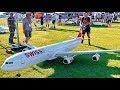 63KG STUNNING GIGANTIC !!! HUGE RC A-340-300 AIRLINER  XXXL SCALE 1:13 MODEL TURBINE JET FLIGHT DEMO