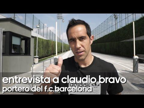 SoloporterosTV entrevista Claudio Bravo, portero del F.C.Barcelona
