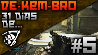 COD Ghosts: 5 Dia de De-KEM-Bro | AK-12 KEM na Flooded