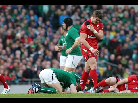 6 Of The Best Hits And Tackles: 2014 RBS 6 Nations Championship