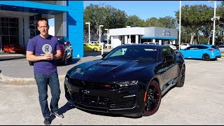Does the 2019 Chevy Camaro SS perform BETTER than it looks?