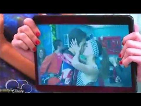 Violetta 2 : Violetta ve cuando León y Lara se besan - Capitulo 61