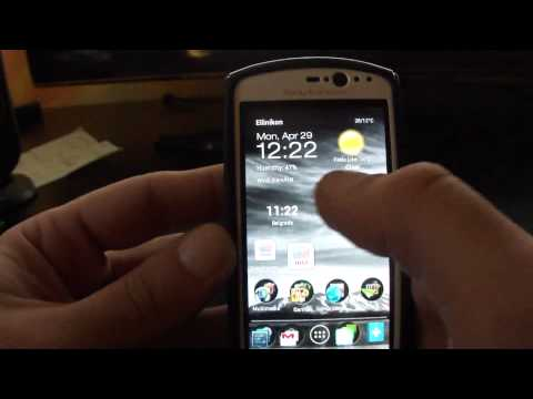 Sony Xperia Neo V JellyBean 4.1.2 moAOKP performance (Full HD)