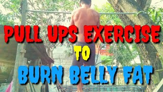 Exercise Na Mabilis Makapag Papayat Pull Ups Burn Belly Fat At Home (Pull Ups King)