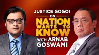 FULL INTERVIEW: Ex-CJI Ranjan Gogoi Speaks To Arnab Goswami On His Rajya Sabha Nomination