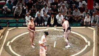 Sumo Fight 2 - White Guy vs Japanese Guy HD