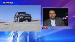العزيزية مدخل الجيش الليبي لطرابلس
