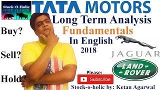 Tata Motors Long Term Analysis - Fundamentals | Stock Analysis | In English | 10-05-2018