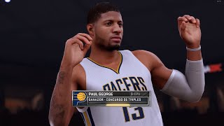 NBA 2K16 (Modo Carrera - CONCURSO DE TRIPLES) Gameplay en Español by SpecialK