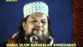 Hafiz Idris khan ashrafi (Fakhr-e-Gujarat) khalif-e-Huzur Sahykh-ul-Islam Madani miya.mpg