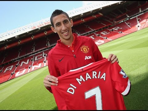 ANGEL DI MARIA ★Welcome to Manchester United★ 720p