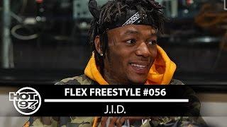 J.I.D. FREESTYLES ON FLEX | #FREESTYLE056