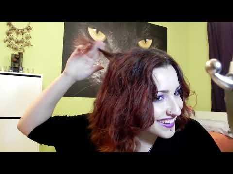 Peinado fácil para corte long bob - Rizos con tenacilla