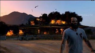Прохождение GTA 5, уничтожение лаборатории, Тревор