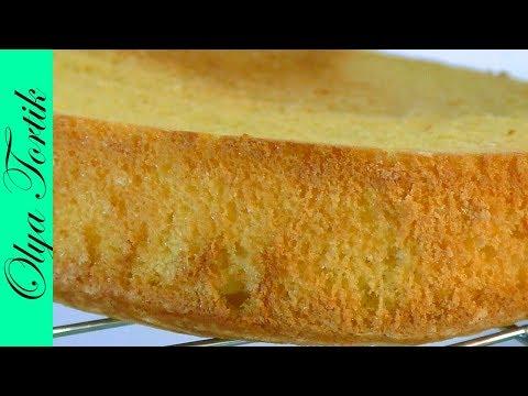БИСКВИТ на желтках пошаговый рецепт Как приготовить бисквит ///Olya Tortik Домашний Кондитер