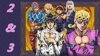 Anime Reactions W/Friend(s): Jojo's Bizarre Adventure Golden Wind- Episode 2 & 3