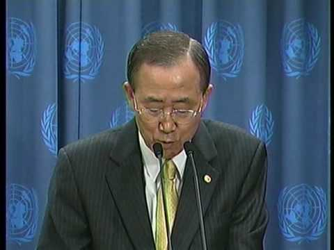 World leaders make progress on climate change and disarmament (Ban Ki-moon)
