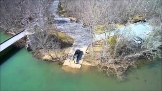Drone Flyover at City Lake - Cookeville TN