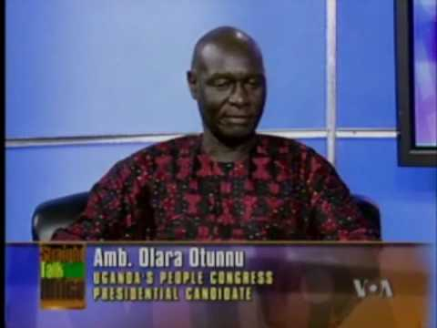 Olara Otunnu and Kahinda Otafire_on_   VOA_Straight Talk Africa_PART  6