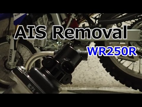 WR250R: AIS Removal & Block-off Plate Install