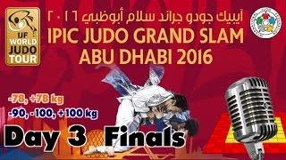 Judo Grand-Slam Abu Dhabi 2016: Day 3