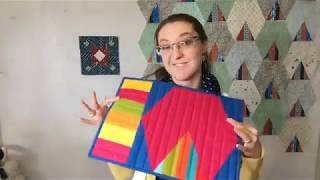 Choosing Fabrics for Three Color Quilts