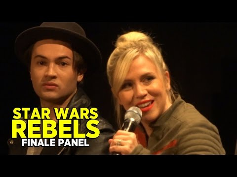Star Wars Rebels season two finale - panel discussion with cast and creative team