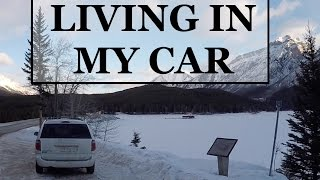 LIVING IN MY CAR - DAY 5 - WASHINGTON TO OREGON!