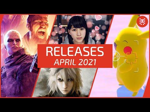 Neue SPIELE im APRIL 2021 für PS4, PS5, Xbox One, Xbox Series X, Nintendo Switch & PC