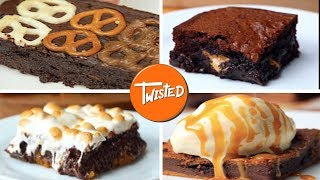 6 Creative Brownie Recipes | Twisted