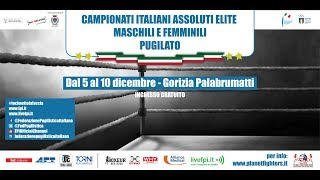 Assoluti 2017 Torneo Maschile QUARTI RING A