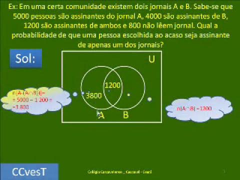 PROBABILIDADE - PARTE 3 DE 4 -PASSO A PASSO - FÁCIL FÁCIL - CC V61