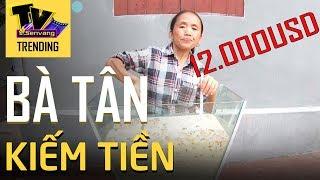 Kênh Youtube Bà Tân Vlogs kiếm được bao nhiêu tiền mỗi tháng? Có thật 12.000USD?