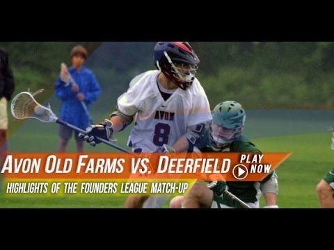 Avon Old Farms (CT) vs Deerfield Academy (MA) | 2013 Lax.com High School Highlights