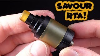 AWESOME Restricted Lung Hit! The Savour RTA!