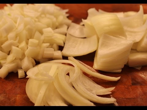 How To Cut Onion-Fast And Easy