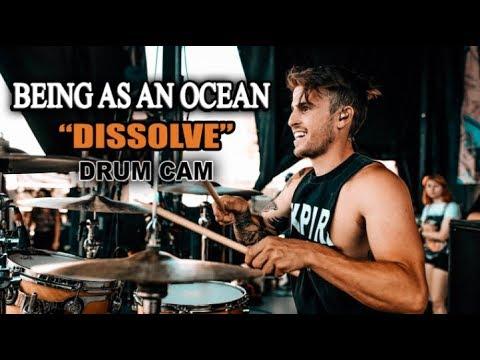 Being As An Ocean   Dissolve   Drum Cam (LIVE) thumbnail
