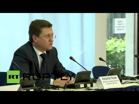 Germany: 'Issues remain, but Ukraine winter gas supplies likely' - Russian Energy Minister Novak