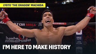 """I'm Here to Make History"" 