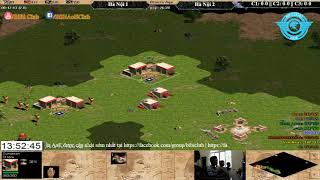 AoE 44 Random Hà Nội 1 vs Hà Nội 2 21-9-2017