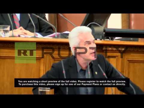 Bulgaria: Siderov condemns
