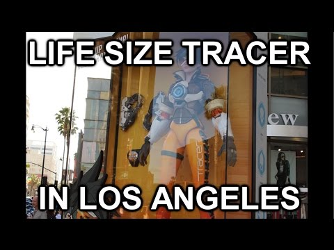 life size tracer in los angeles [offensive]